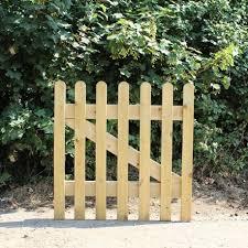 new oak picket gate oak fencing