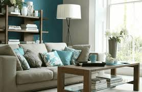 living room room with turquoise accents transpa glass wall partition furry brown rug plain tan
