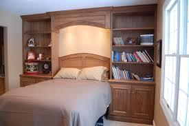 Hand Crafted Black Walnut Bedroom Built In By John Samuel Custom - Custom bedroom cabinets