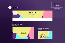 Social Media Design Templates Summer Music Party Social Media Pack Design Templates Bundle