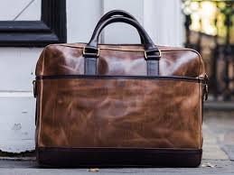 the thursday boot company briefcase in natural horween leather thursday boot company