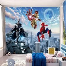 wallmural superhero wall murals