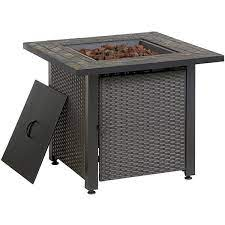 endless summer gas fire table with