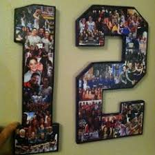 senior night headquarters seniors 2017 2018 seniors custom photo number collages number basketball giftsfootball player