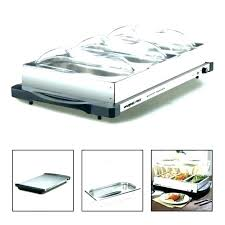 buffet server and warming tray impressive electric triple warmer commercial food for party warm