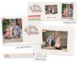 Fabulous Free Christmas Card Template And Timeline Cover