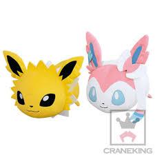 Pokemon Sun & Moon - Rolling Friends Big Plush Sylveon & Jolteon, Hobbies &  Toys, Toys & Games on Carousell