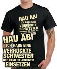 Geschenk Bruder In Herren T Shirts Günstig Kaufen Ebay