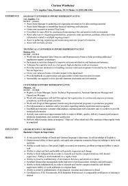 customer service representative resumes customer support representative resume samples velvet jobs