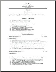 Pharmacy Tech Resume Samples – Lespa