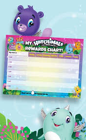 Hatchimals Chart Icons