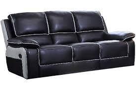 holden black leather grey recliner 3