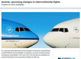 Flying Blue Points Chart Loyaltylobby Upgrade Your Travel Using Miles And Points