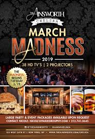 Chelsea office space lounge Arrowhead Plaque March Madness 2019 Regus The Ainsworth Restaurant Bar Burgers Sports Event Space