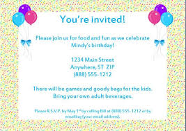 Invitation Letter To A Birthday Party Koriath Info