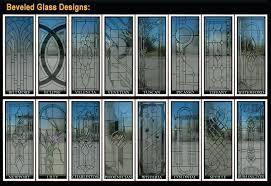 doors with glass inserts custom glass door designs interior wood door glass insert