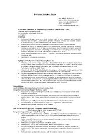 Sample Resume With Sabbatical Navneet Cv 24 Revised 9