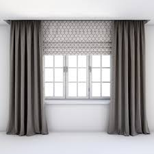 roman blinds and curtains.  Curtains Contemporary Curtains Roman Blinds 3D For Roman Blinds And Curtains N