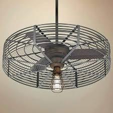 cage fan light caged ceiling fan vintage breeze 1 light cage fans with lights caged ceiling fan diy cage light fan