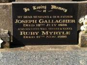 Ruby Myrtle Gallagher Died: 11 Nov 1986 BillionGraves Record