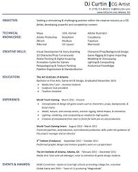 Dj Resume Resume Ideas