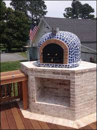 build outdoor pizza oven awesome outdoor brick fireplace plans average backyard wood fired pizza oven