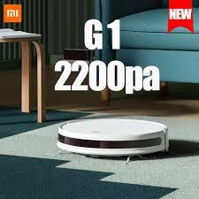 Chính Hãng Xiaomi Mijia Càn Quét Robot G1 2200 PA Đa Năng Máy Hút Bụi Thông  Minh Vệ Sinh Sàn Nhà 2 Trong 1 Sạc 