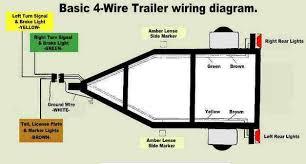 4 wire trailer wiring diagram boat full