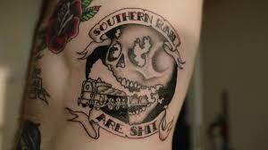 татуировка как социальный протест против руководства южной железной