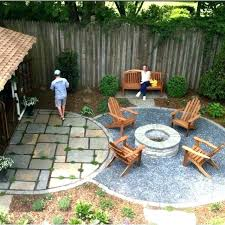 outdoor fire pit area pea gravel fire pit area lovely love this idea deck of seating