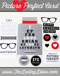 picture perfect diy birthday card for him