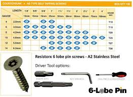 Pin Torx Tamper Proof Security Screws From Insight Security