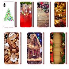 Happy <b>New Year Christmas Silicone</b> Cases Covers For Samsung ...