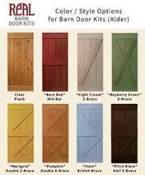 styles of barn doors google search