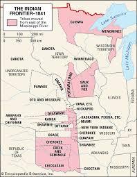 Five Civilized Tribes Facts Maps Significance Britannica