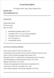 College Application Resume Template Stunning 717 Stylish Design College Application Resume Sample Of College