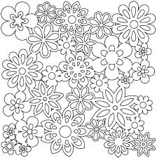 Flowers Coloring Pages For Preschoolers Plant Coloring Pages For