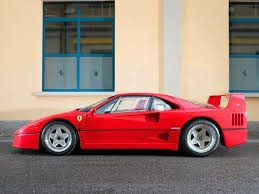 F40 stands third in the timeline. 1987 1992 Ferrari F40 Top Speed
