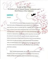 the best essay ever the best essay ever this was written about lord of the flies