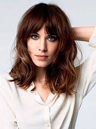 Hair Alert  Best Bangs For Your Face Shape   HuffPost together with Top 16 Best Short Hairstyles With Bangs For Round Faces further  additionally Top 25  best Round face bangs ideas on Pinterest   Short hair with in addition  in addition Medium Length Hairstyles for Round Faces With Bangs   LOOKING GOOD likewise 40 Cute Looks with Short Hairstyles for Round Faces besides Haircut for round face bangs – Your new hairstyle photo blog as well  besides  in addition . on haircuts with bangs for round faces
