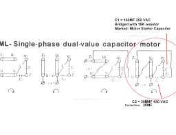 single phase capacitor start run motor wiring diagram concer biz capacitor start capacitor run motor diagram at Capacitor Start Run Motor Wiring Diagram