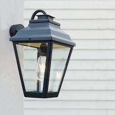 outdoor lantern lighting. hackney outdoor lantern wall mounted in matt black lighting t