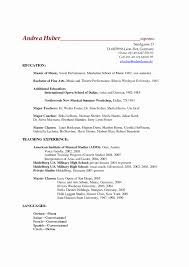 Music Resume Template 100 Unique Audition Resume Format Resume Ideas Resume Ideas 75