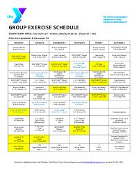 Ymca Bike Test Chart Zumba Pilates Yoga In Omaha Ymca Adult Group Exercise