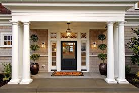 front porch boxwood topiary ideas entry victorian with cape cod style traditional outdoor wall lanterns