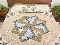 17 best Star Spin Quilting Ideas images on Pinterest | Cushions ... & Star Spin Quilt -- wonderful made with care Amish Quilts from Lancaster  (hs5465) Adamdwight.com
