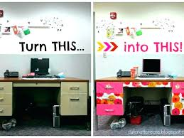 decorating a work office. Unique Decorating Decorating Work Cubicle Office Ideas Home Desk  Decor To Decorating A Work Office N