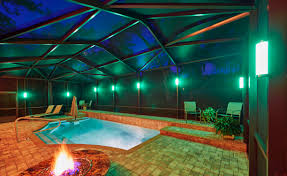pool cage lighting. Pool Enclosure Lighting West Palm Cage F