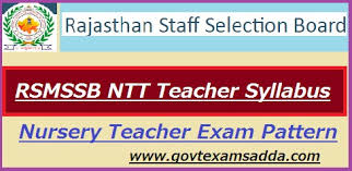 Teacher Syllabus Rsmssb Ntt Teacher Syllabus 2019 Exam Pattern Download Govt Exams Adda