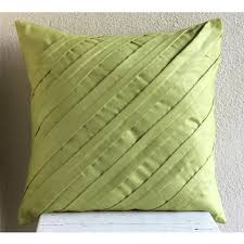 apple green throw pillows cover x faux suede